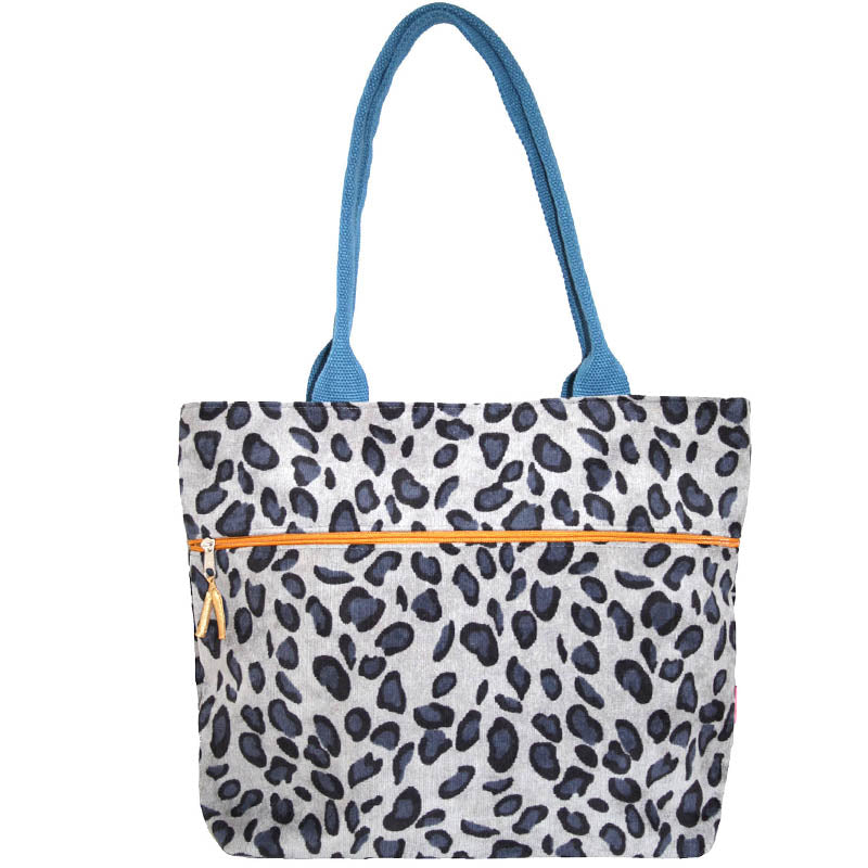 Lua Grey Shopper Tote Bag