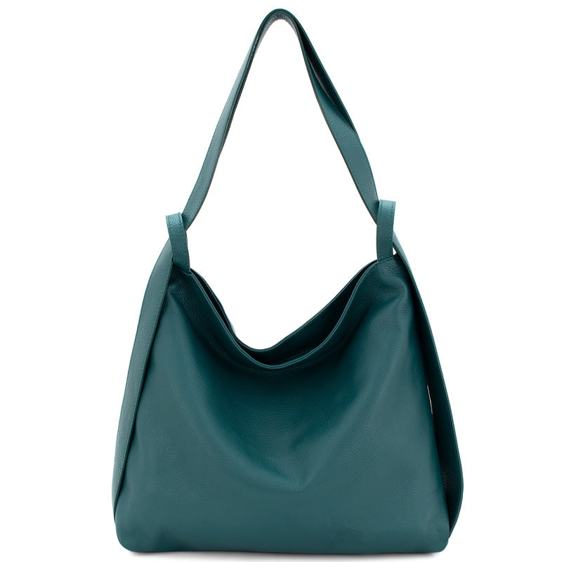 Your Bag Heaven Leather Teal Shoulder Bag Hobo Ladies Backpack