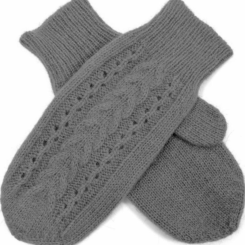 Click And Collect (Gloves Collection) Grey Ladies Mittens