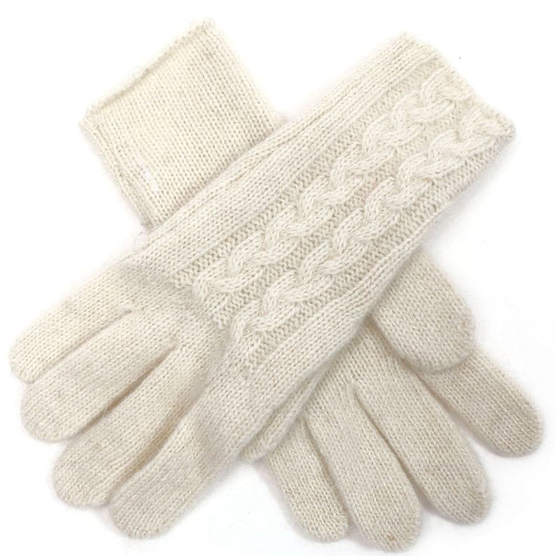 Click And Collect (Gloves Collection) Winter White Ladies Gloves