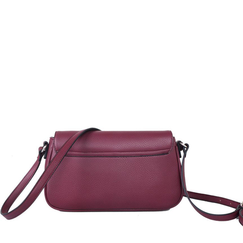 Red Cuckoo Plum Vegan Cross Body Shoulder Bag