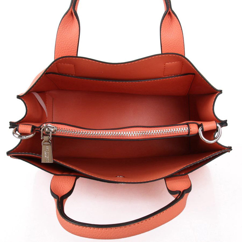 Red Cuckoo Coral Vegan Grab Bag Cross Body Shoulder Bag