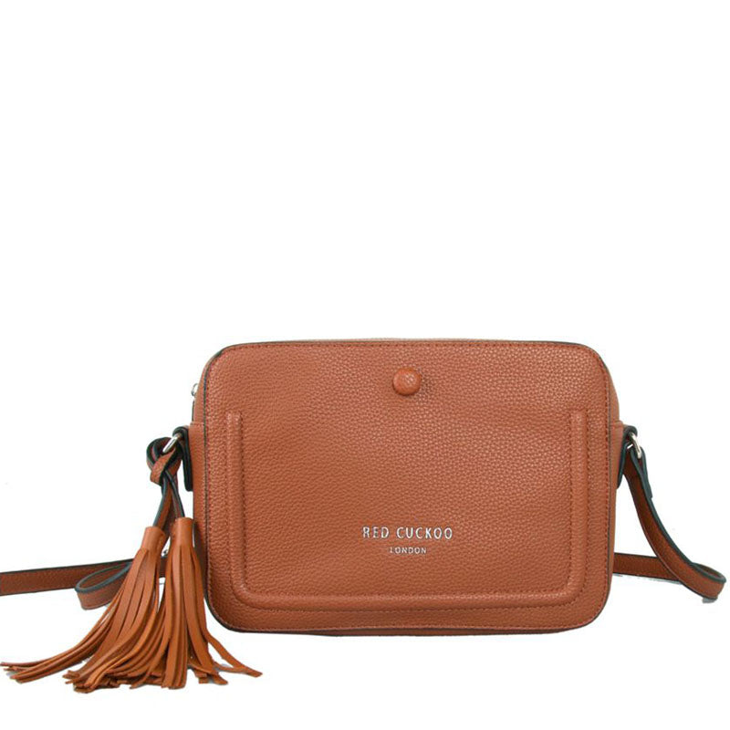 Red Cuckoo Vegan Cross Body Shoulder Bag