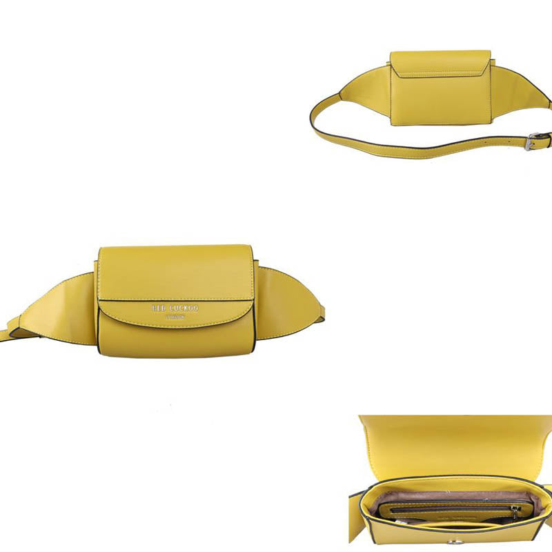 Red Cuckoo Yellow Vegan Bum Bag