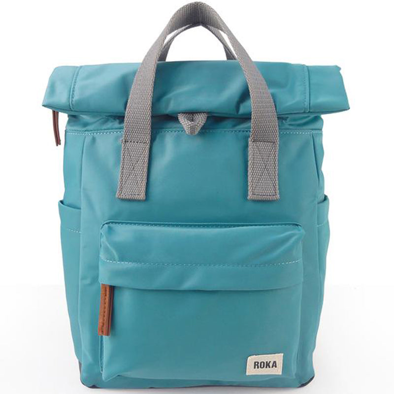 Roka Petrol Grab Bag Ladies Backpack Mens Backpack Vegan Product