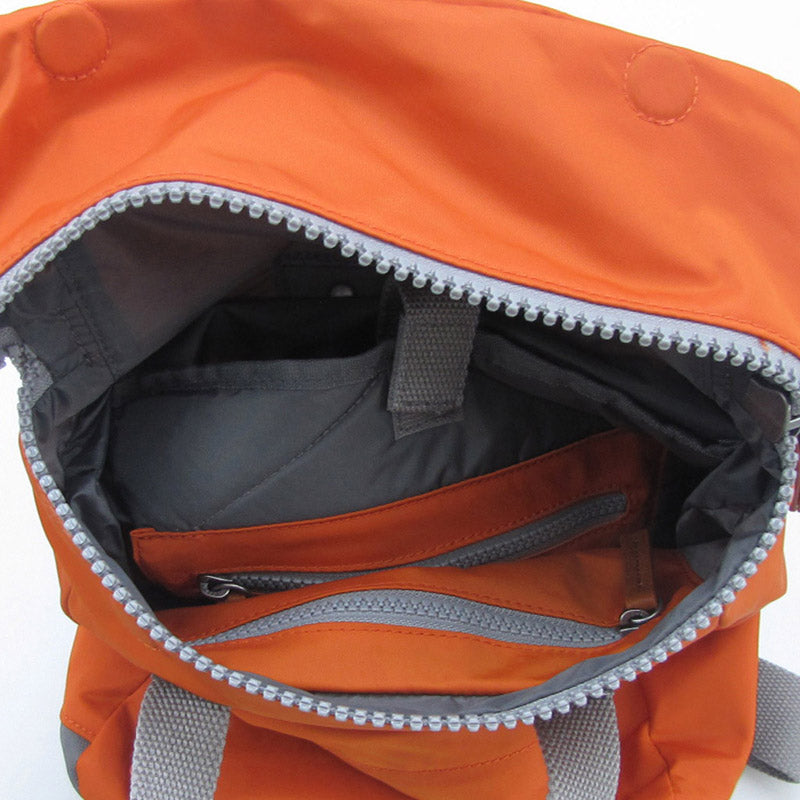 Roka Burnt Orange Grab Bag Ladies Backpack Mens Backpack Vegan Product