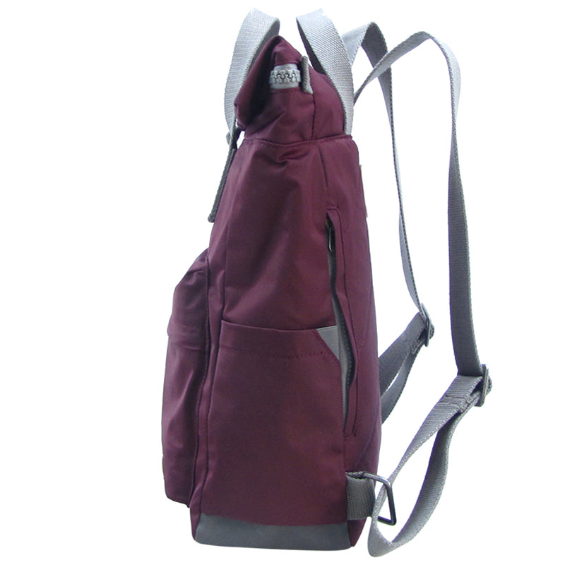 Roka Plum Grab Bag Ladies Backpack Mens Backpack Vegan Product