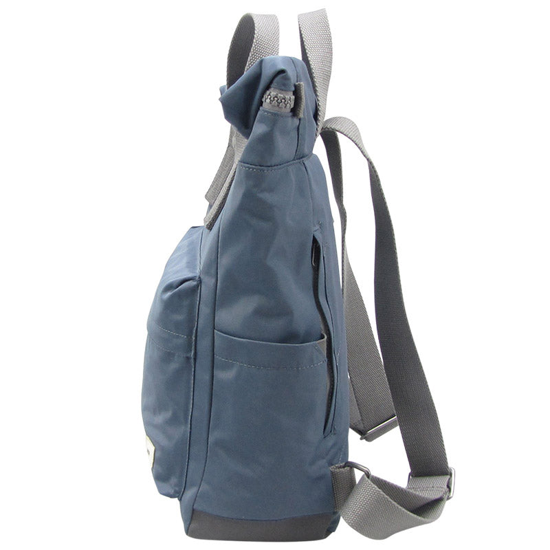 Roka Air Force Blue Grab Bag Ladies Backpack Mens Backpack Vegan Product