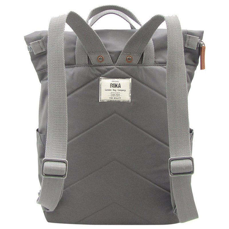 Roka Graphite Grab Bag Ladies Backpack Mens Backpack Vegan Product #With Free Delivery