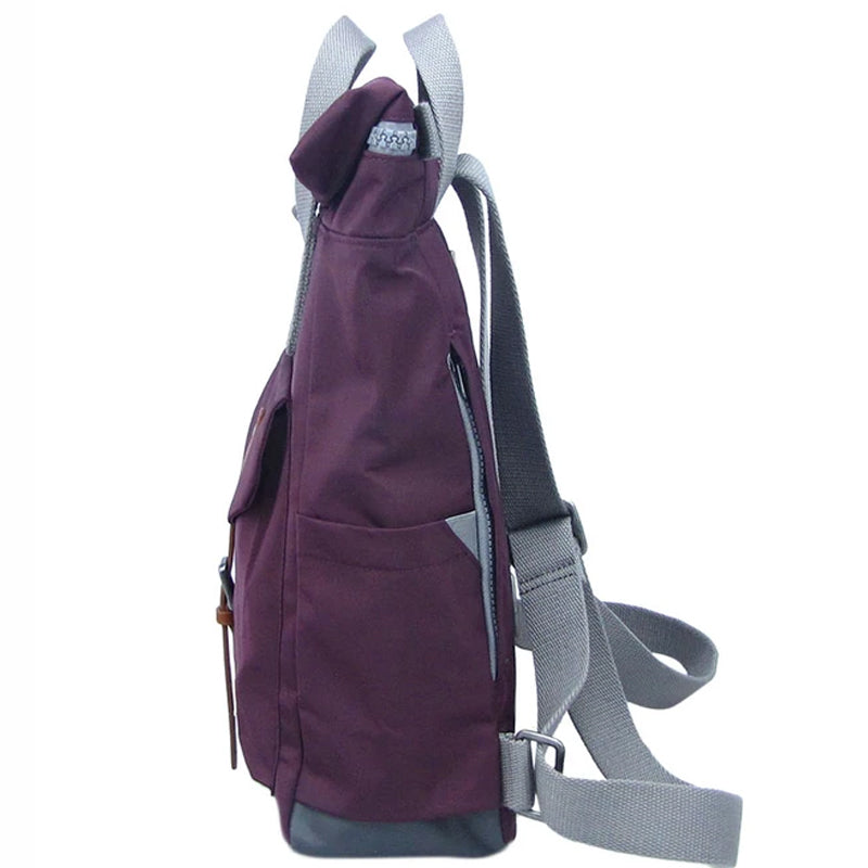 Roka Plum Grab Bag Ladies Backpack Men's Backpack Vegan Product