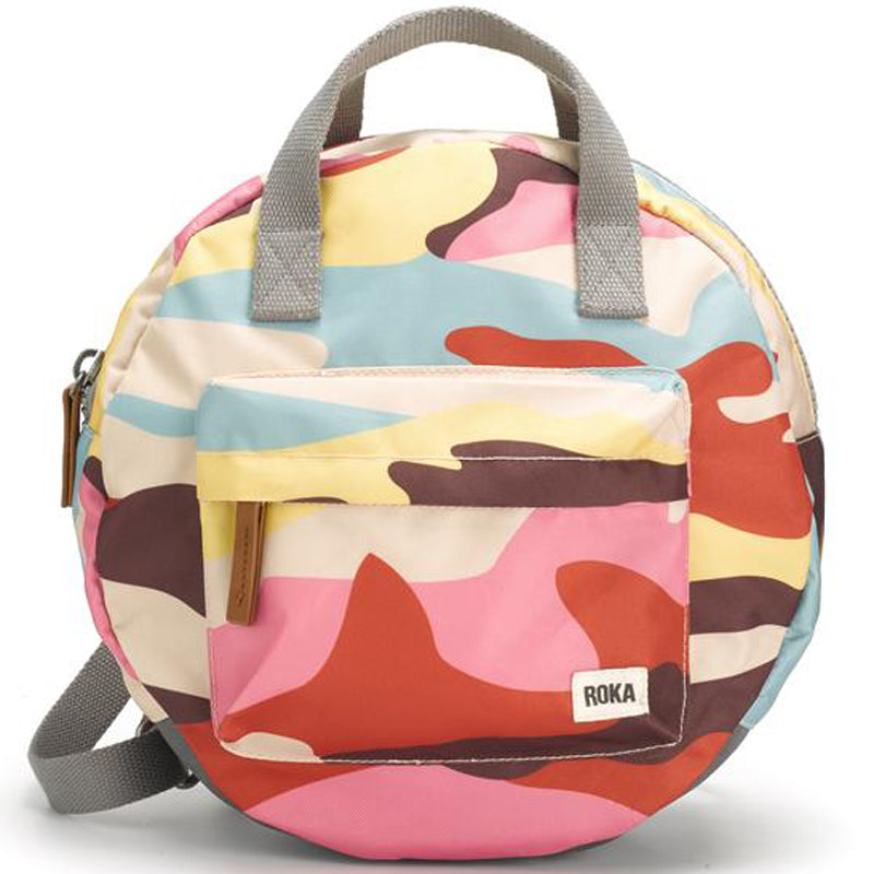 Roka Vegan Paddington Camo Men's And Ladies Backpack Grab Bag Sustainable Product