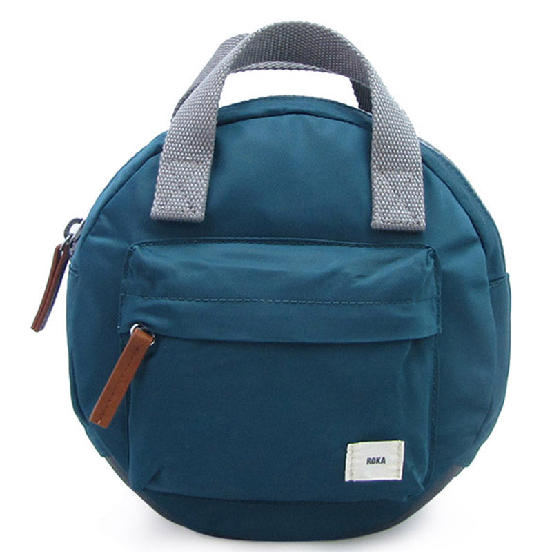 Roka Paddington Teal Mens And Ladies Backpack Grab Bag Vegan Product