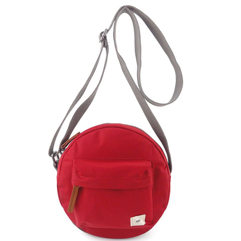Roka Paddington Cranberry Cross Body Shoulder Bag Vegan Product