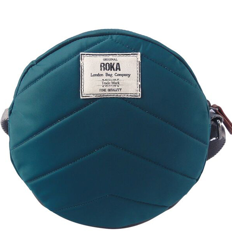 Roka Paddington Teal Cross Body Shoulder Bag Vegan Product