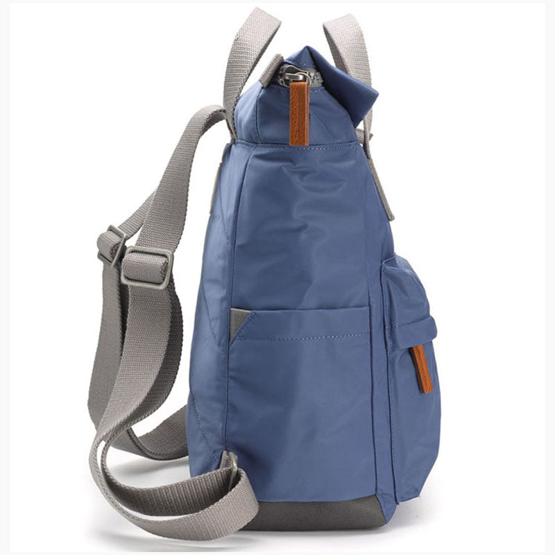 Roka Burnt Blue Grab Bag Ladies Backpack Mens Backpack Vegan Product