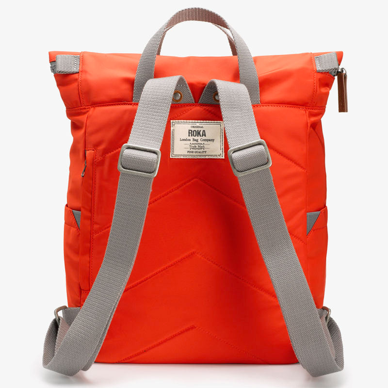 Roka Neon Red Grab Bag Ladies Backpack Men's Backpack Vegan Product