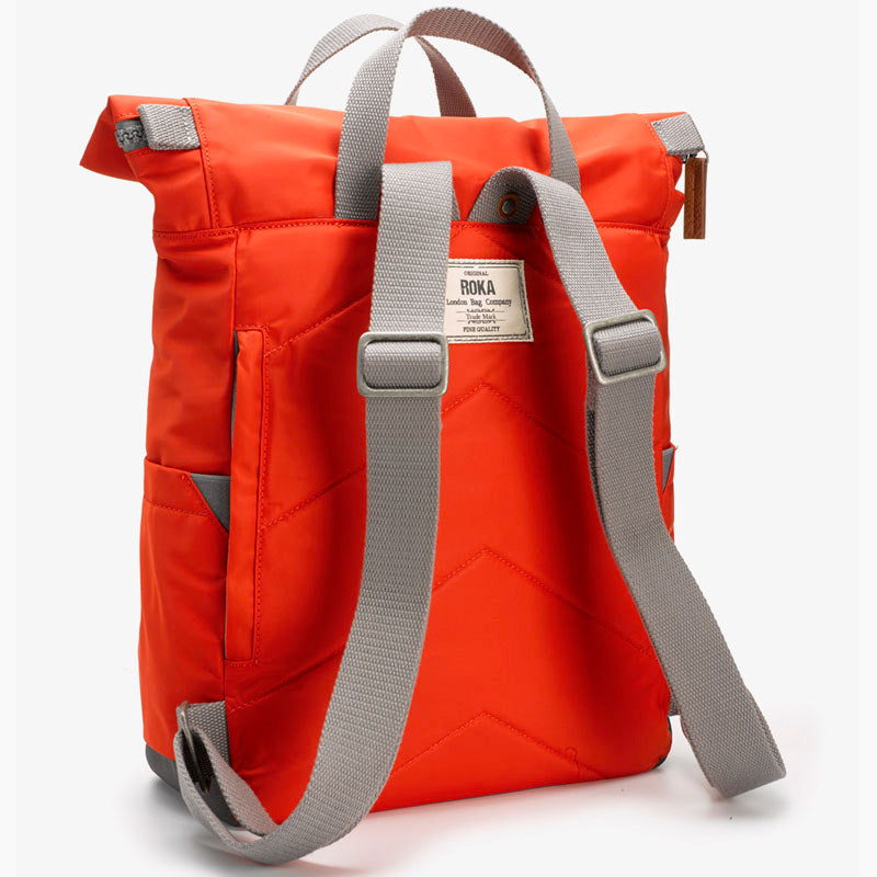 Roka Neon Red Grab Bag Ladies Backpack Mens Backpack Vegan Product