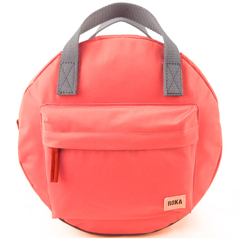Roka Paddington Coral Mens And Ladies Backpack Grab Bag Vegan Product