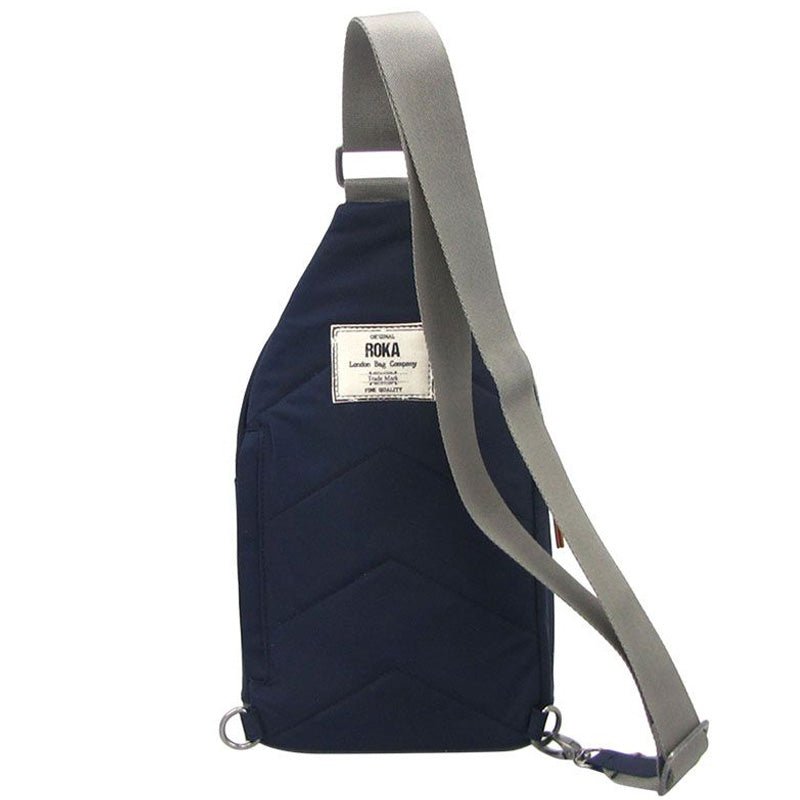 Roka Midnight Blue Cross Body Chest Pack Shoulder Bag Vegan Product