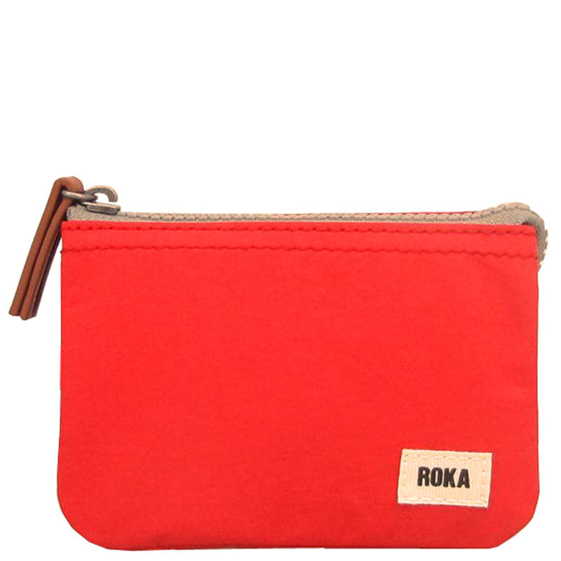 Roka Strawberry Three Section Coin Card Purse Organiser Wallet Vegan Product