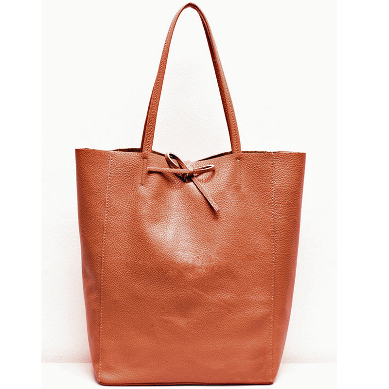 Your Bag Heaven Soft Leather Tote Bag Shopper Bag