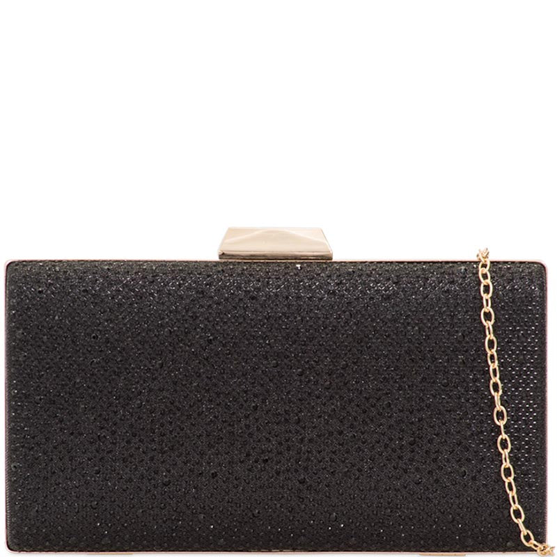 Your Bag Heaven Black Clutch Bag Evening Bag Shoulder Bag