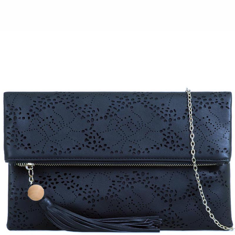 Your Bag Heaven Navy Blue Clutch Bag Evening Bag Shoulder Bag