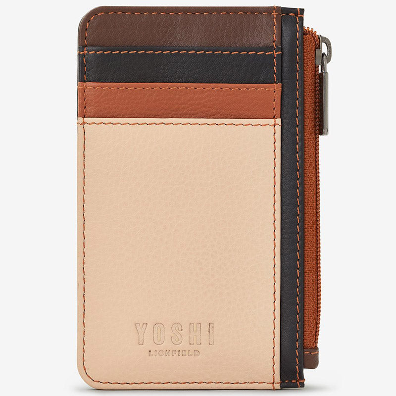 Yoshi Frappe Multi Soft Leather Card Wallet Coin Purse