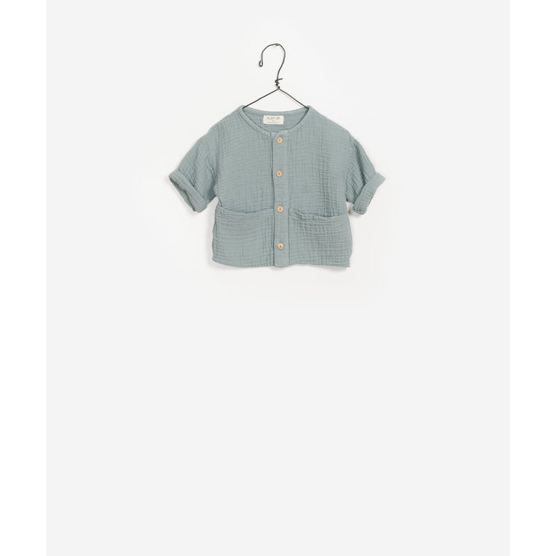PLAY UP GENUINE WOVEN COTTON SHIRT