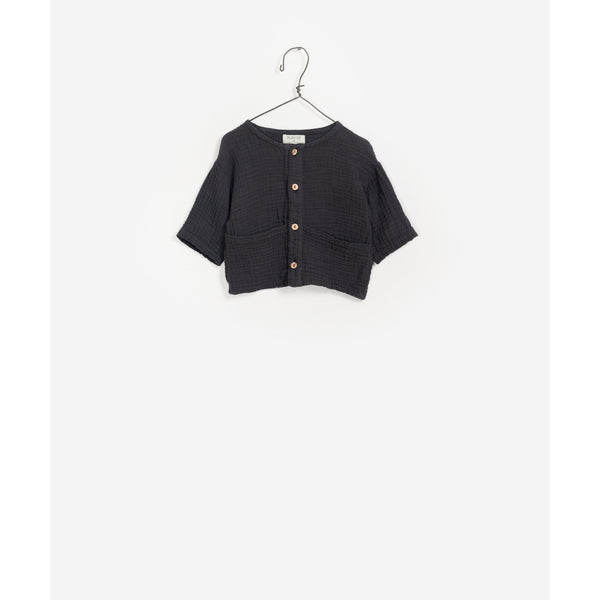 PLAY UP NEEDLE WOVEN COTTON SHIRT