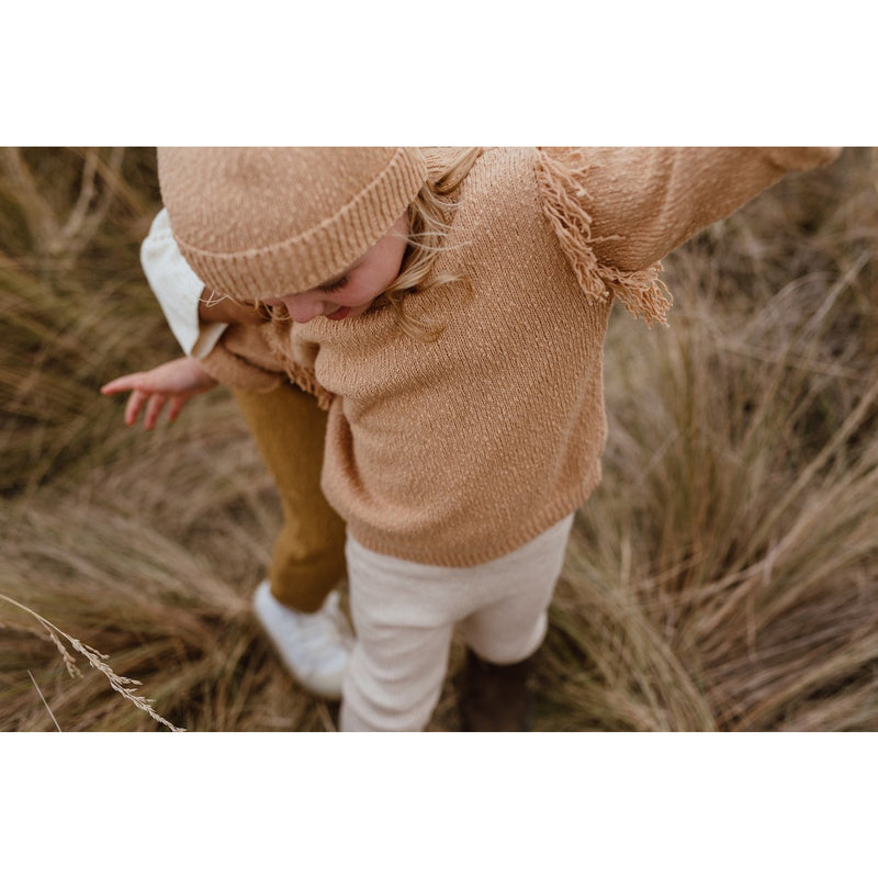 Grown Sandstorm Frill Jumper