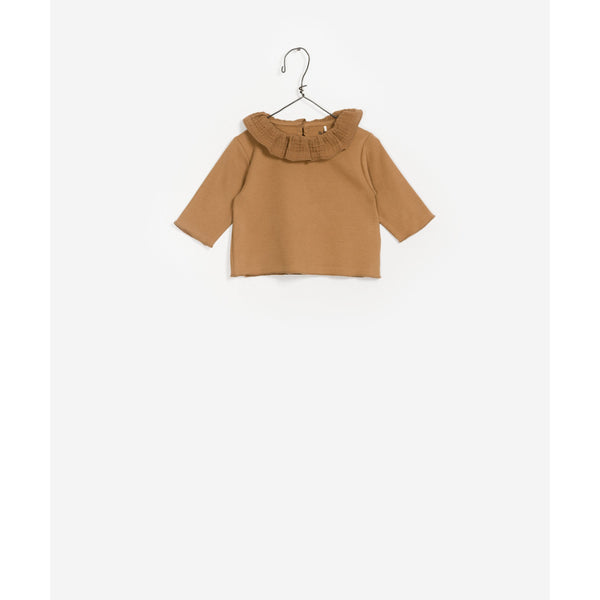 PLAY UP CRAFT FRILL SWEATER