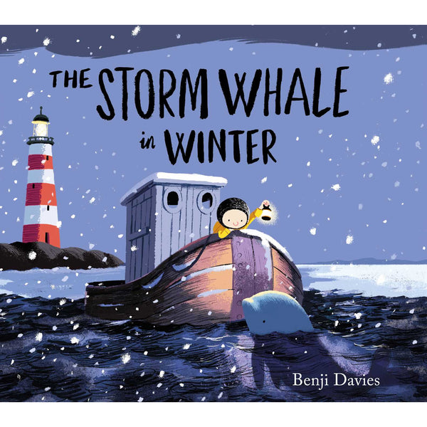 STORM WHALE IN WINTER BY BENJI DAVIES