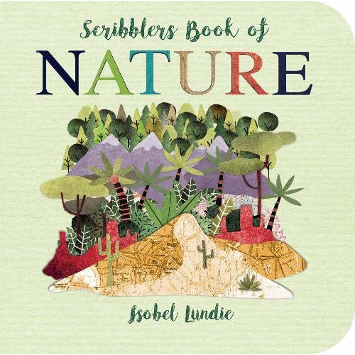 SCRIBBLERS BOOK OF NATURE BY ISOBEL LUNDIE