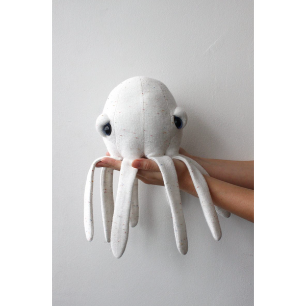 BIGSTUFFED MINI ALBINO OCTOPUS