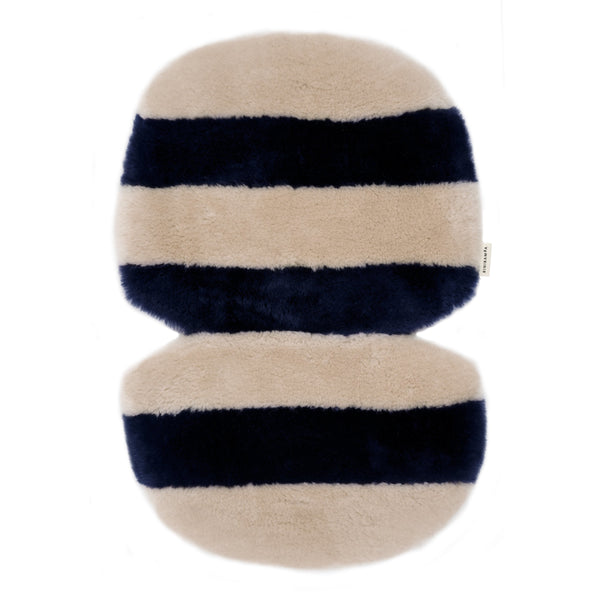 BINIBAMBA BLUE ROSE STRIPE SNUGGLER