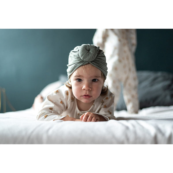 Bonjour Little Pampas Knotted Turban