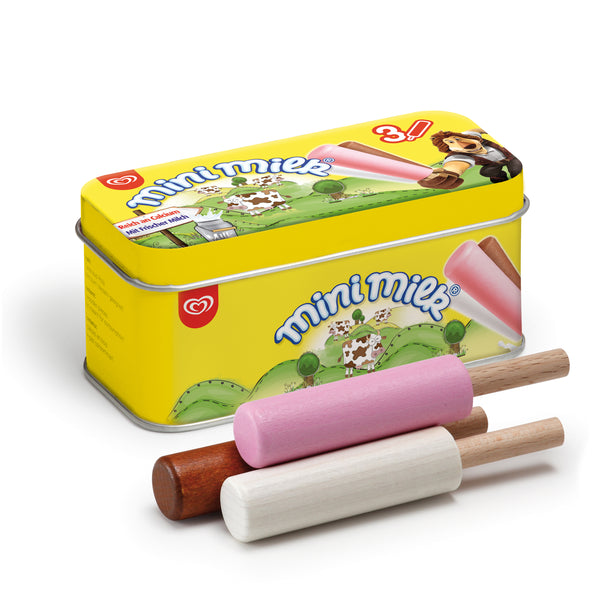 Erzi Assorted Wooden Mini Milks