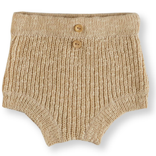 Grown Tan Chunky Rib Bloomers