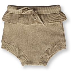 Grown Goldie Ribbed Frill Bloomers