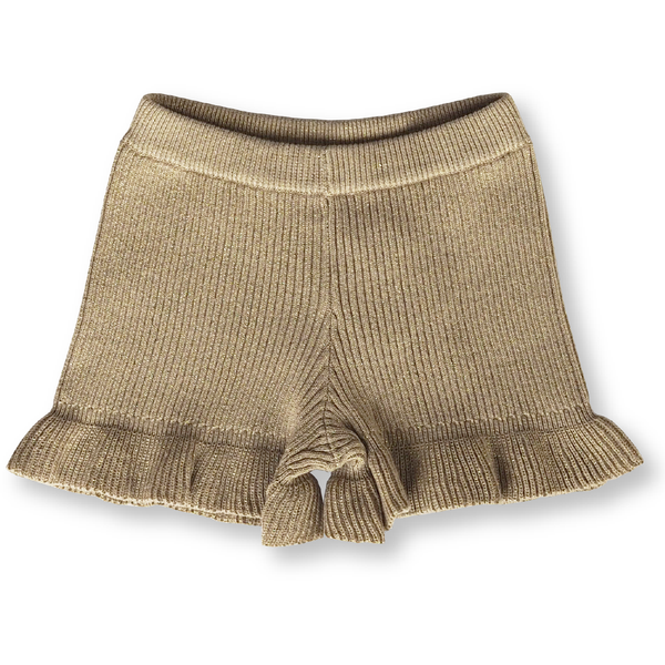 Grown Goldie Ribbed Frill Shorts