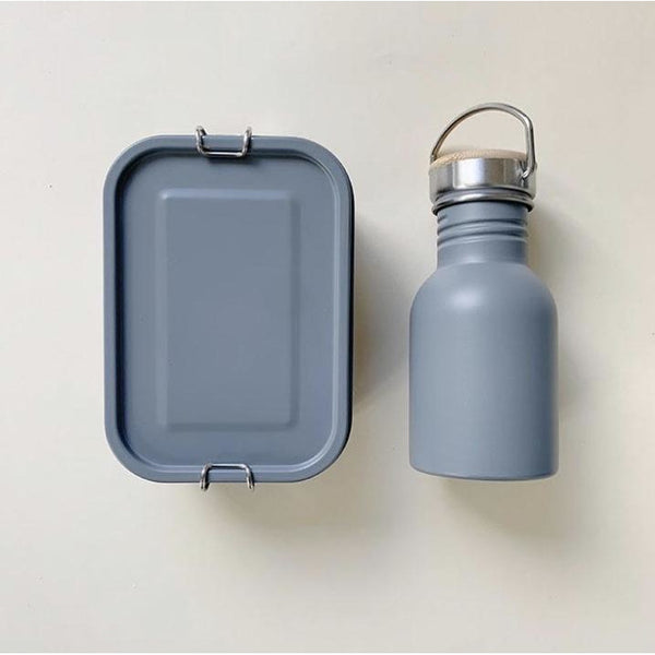 HAPS NORDIC STAINLESS STEEL OCEAN WATER BOTTLE LUNCH KIT (PRE ORDER)