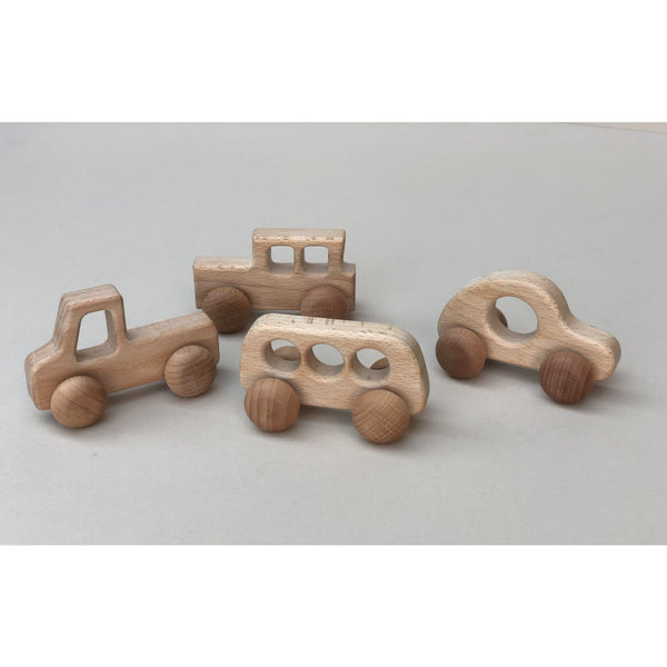 Wooden Cars (Set of Four)