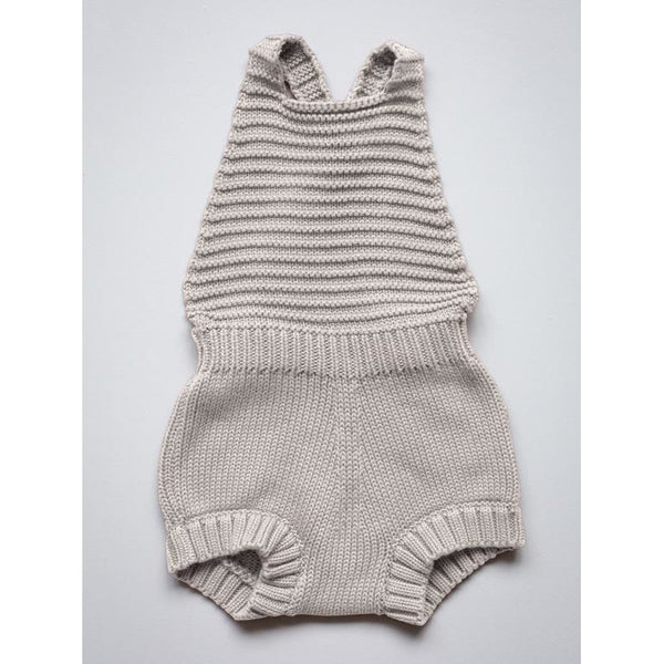 THE SIMPLE FOLK OATMEAL KNIT ROMPER