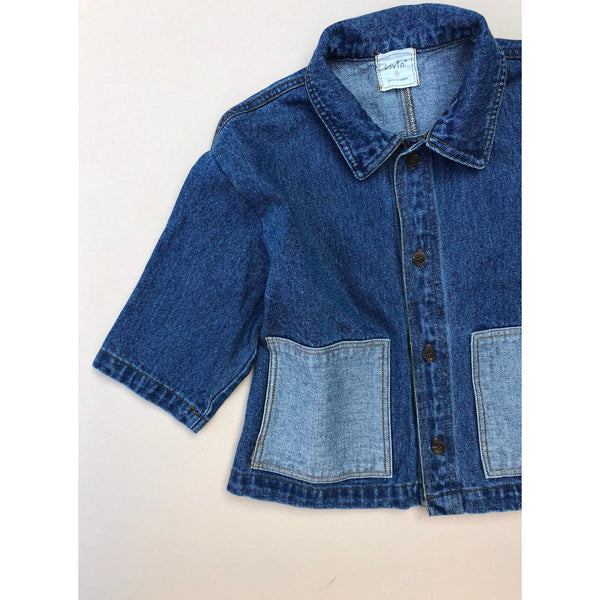LOVIN OVERSIZED DENIM JANE JACKET