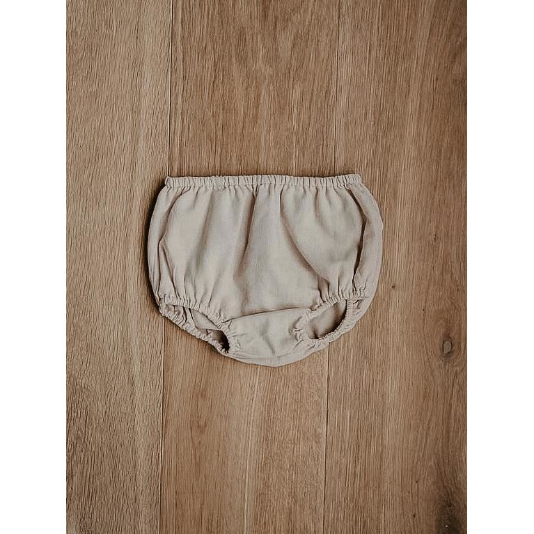 The Simple Folk Oatmeal Linen Bloomers