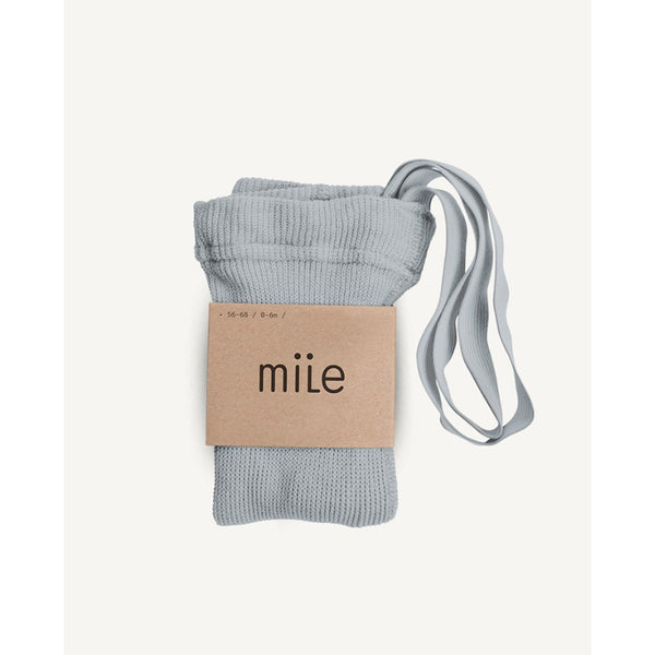 MILE LIGHT GREY TIGHTS WITH BRACES