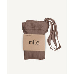 MILE HAZLENUT TIGHTS WITH BRACES