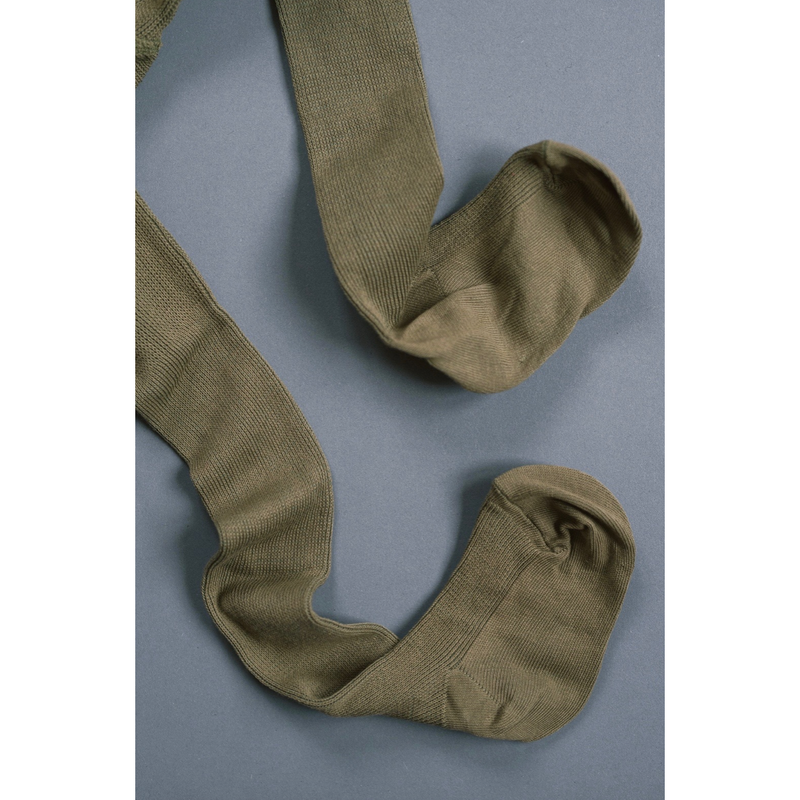 Mile Herbal Green Tights With Braces
