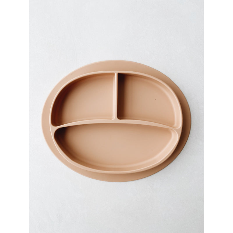 LION AND LAMB NUDE SILICONE PLATE
